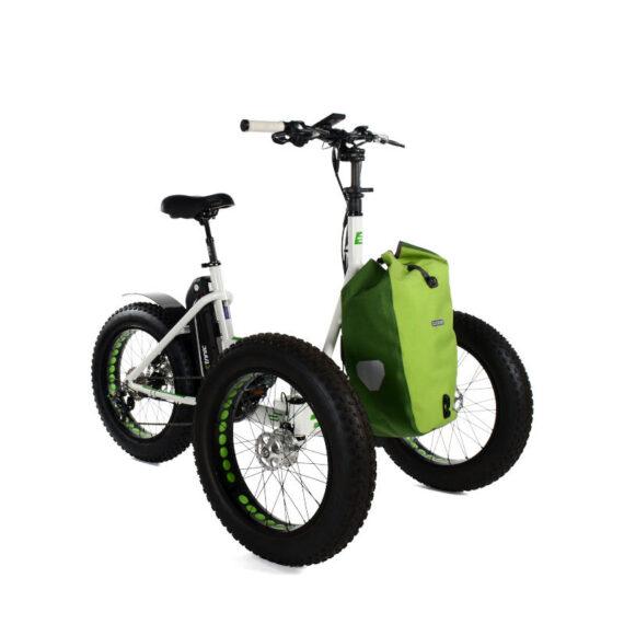Etnnic Fat 2.0 offroad triciclo per adulti con borsa verde