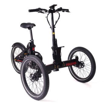triciclo per adulti pieghevole folding 2.0 motore centrale