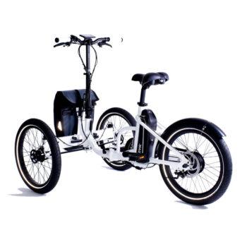 triciclo per adulti pieghevole folding 2.0 motore posteriore
