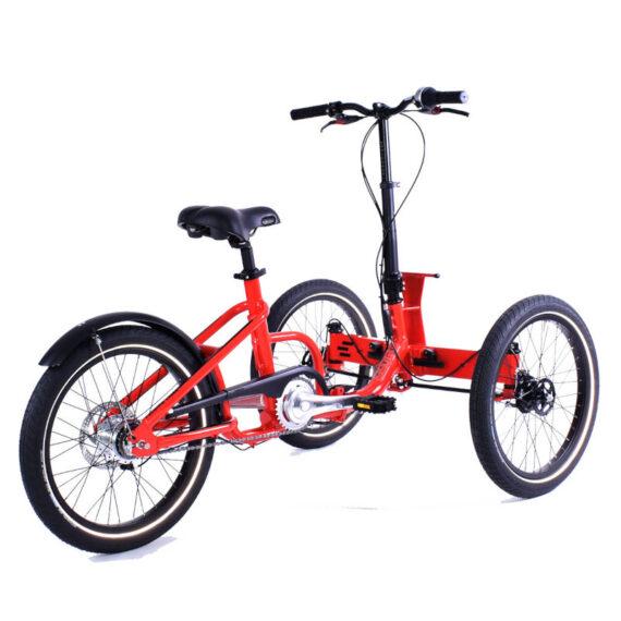 triciclo per adulti pieghevole folding 2.0 non elettrico