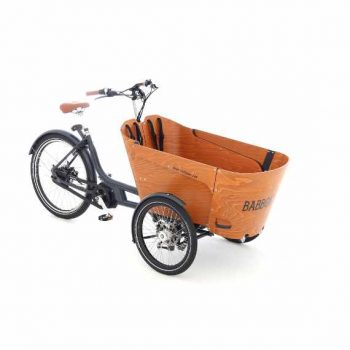 Babboe Carve Mountain la cargo bike che piega in curva