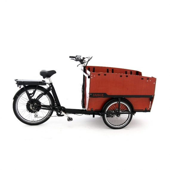 BABBOE eMAX cargo bike 6 posti lato