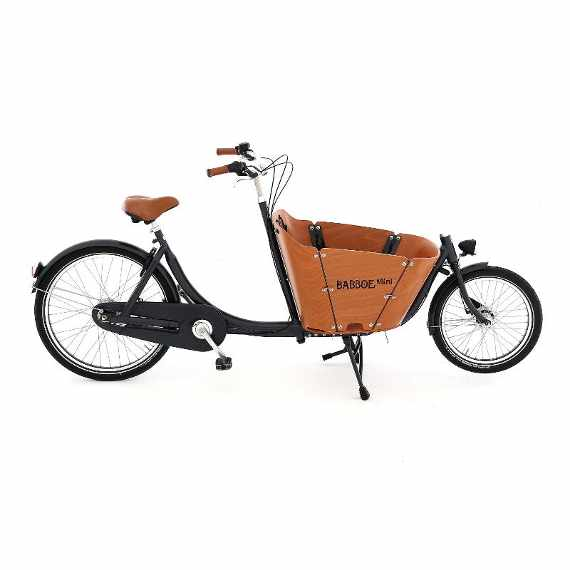 Babboe Mini cargo bike vista laterale
