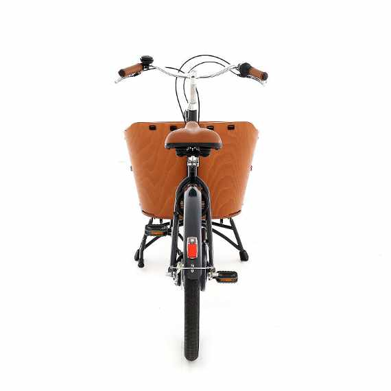 Babboe Mini cargo bike vista porteriore