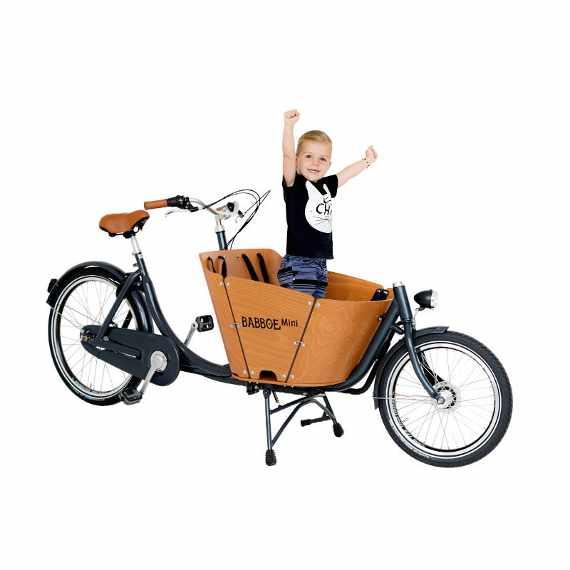 Babboe Mini cargo bike trasporto bambino