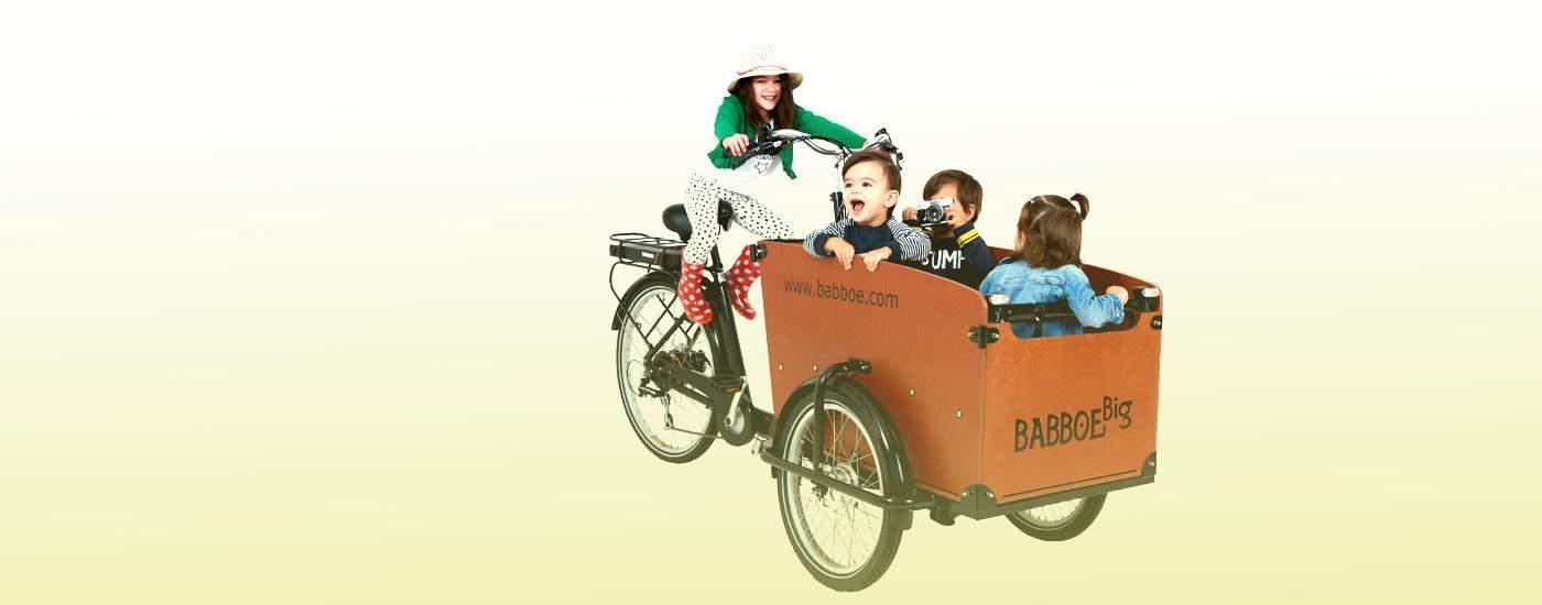 Babboe big gioia nello spostamento urbano