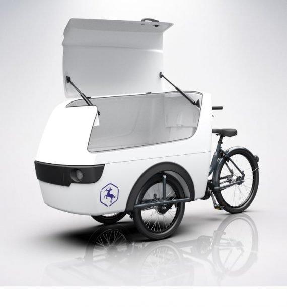 Cargo bike trasporto merci elettrica