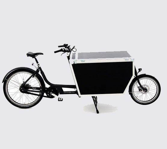 Cargo bike trasporto merci Flightcase