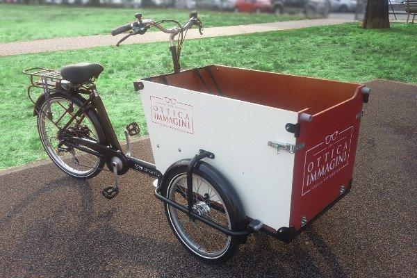 E-Dog Ottica cargo bike personalizzata