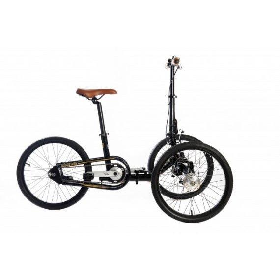 Etnnic triciclo adulti pieghevole muscolare