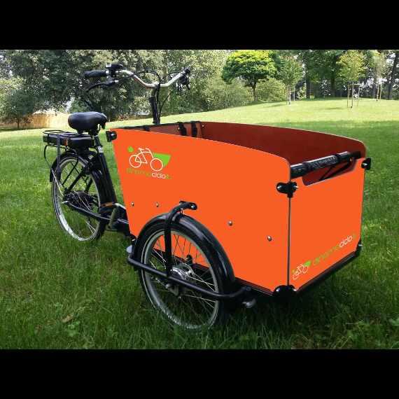 personalizzazione e noleggio cargo bike Babboe Big