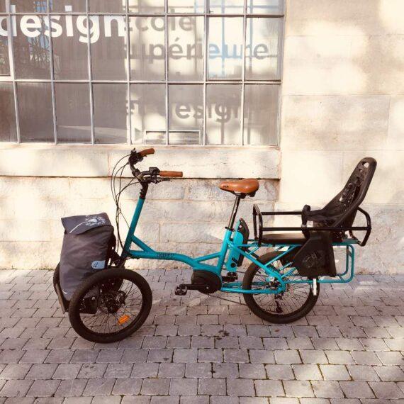 Kiffy cargobike longtail trasporto bambini