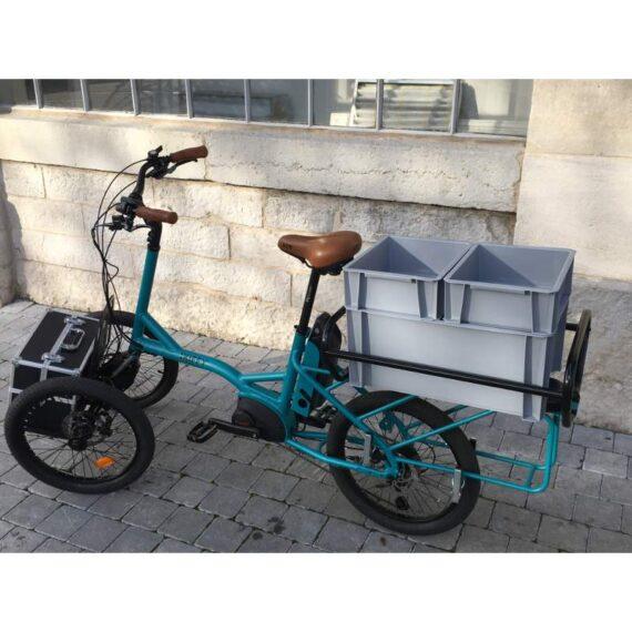 Kiffy cargobike longtail trasporto merci