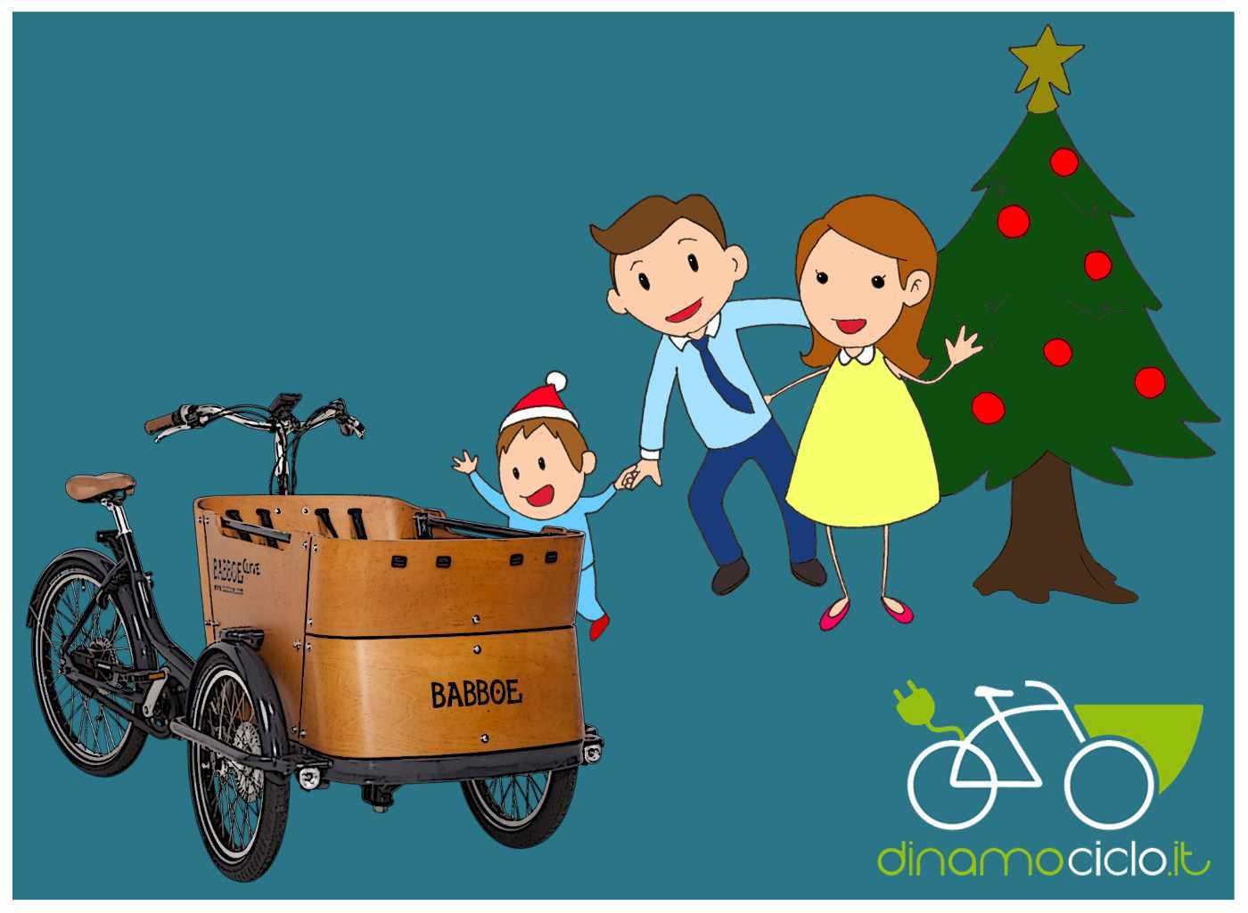 cargo bike idea regalo per la famiglia