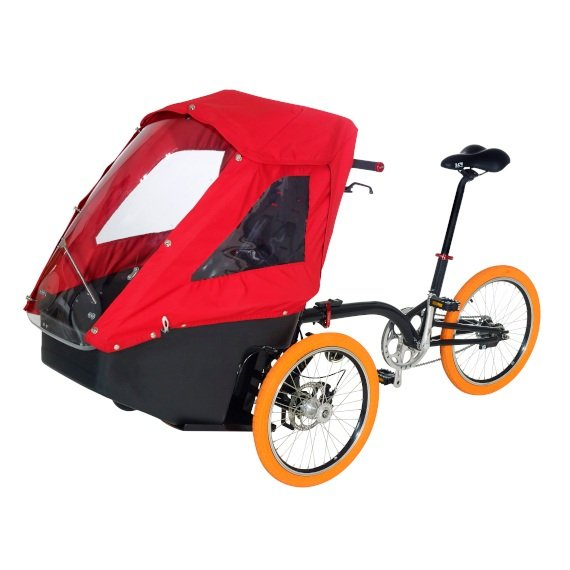 Box Kiffy per il trasporto bimbi-con bici