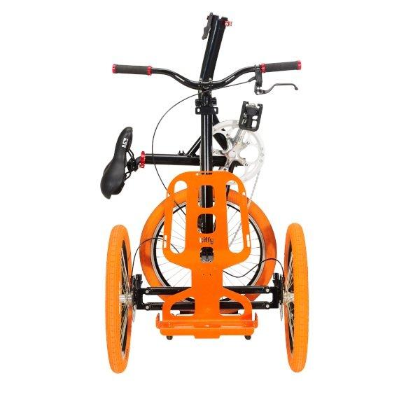 Kiffy flash triciclo per adulti vista fronte
