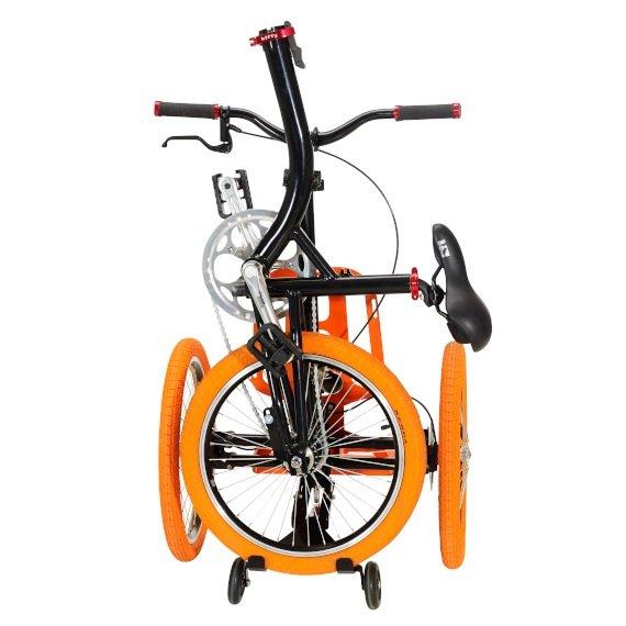 Kiffy flash triciclo per adulti pieghevole