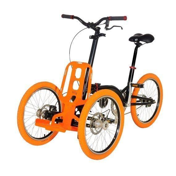 Kiffy flash triciclo per adulti