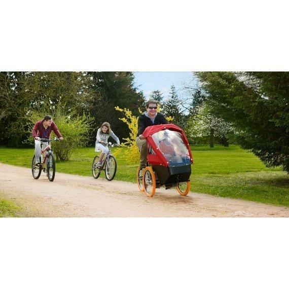 KIFFY_versione cargo bike trasporto bambini