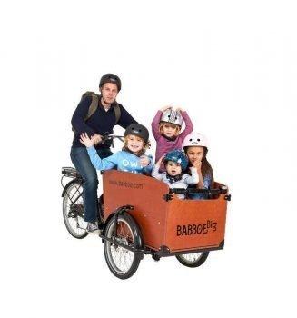 Babboe cargo bike Big, il modello classico e ancora preferito