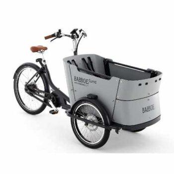 babboe curve mountain cargo bike elettrica per trasporto bambini con freni a disco