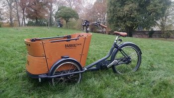 babboe curve mountain cargo bike test drive