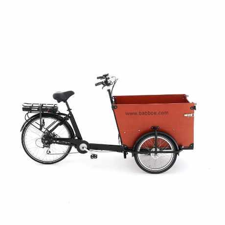 Babboe e-Dog cargo bike elettrica da trasporto cane e bambini