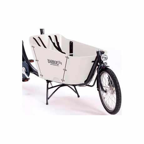 babboe e-city cargo bike bambini 01 bianco