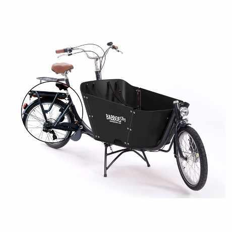 babboe e-city cargo bike bambini 02 nero