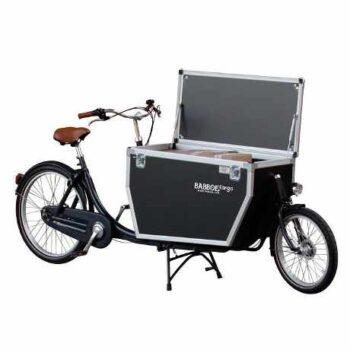 babboe e-city cargo elettrica a due ruote da trasporto merci