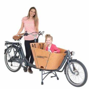 Babboe e-mini cargo bike trasporto bimbi