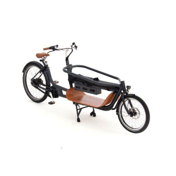 babboe slim cargo bike due ruote per trasporto bambinibambini