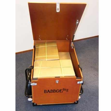 Babboe Transporter Cargo Bike a tre ruote per il trasporto di merci