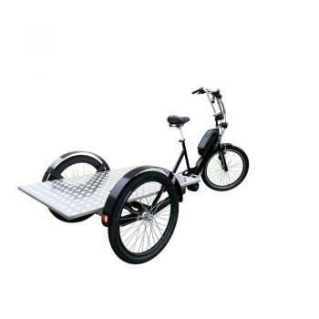 cargobike trasporto-merci con-pianale
