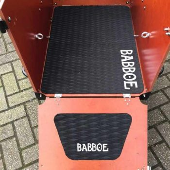 tappetto antiscivolo cargo bike babboe dog
