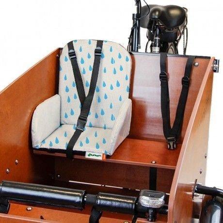 sedile bimbo per cargo bike Babboe lacrime di coccodrillo