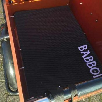 tappetto antiscivolo per cargo bike Babboe Big e Dog