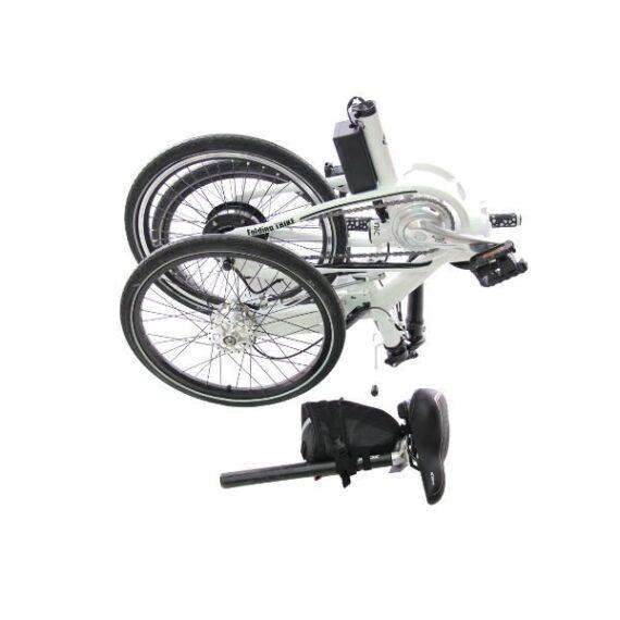 triciclo pieghevole elettrico borsa ETNNIC chiusa
