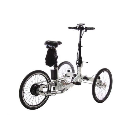 triciclo pieghevole elettrico borsa