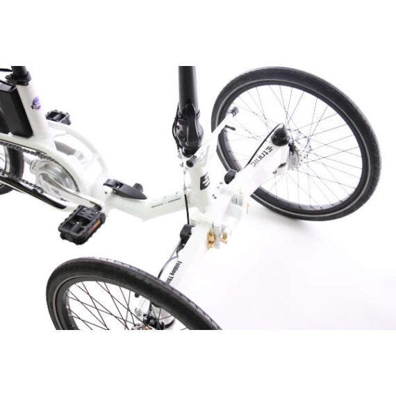 triciclo pieghevole elettrico borsa ETNNIC dettaglio anteriore