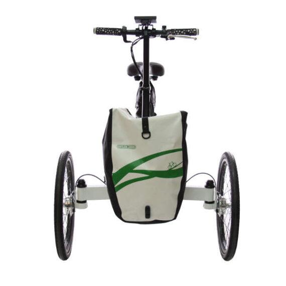 triciclo pieghevole elettrico borsa ETNNIC con borsa frontale